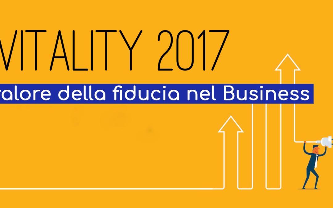 """WEBINAR : """"Vitality 2017: il valore della fiducia nel Business"""""""