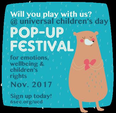POP-UP Festival  Ι  Universal Children's Day